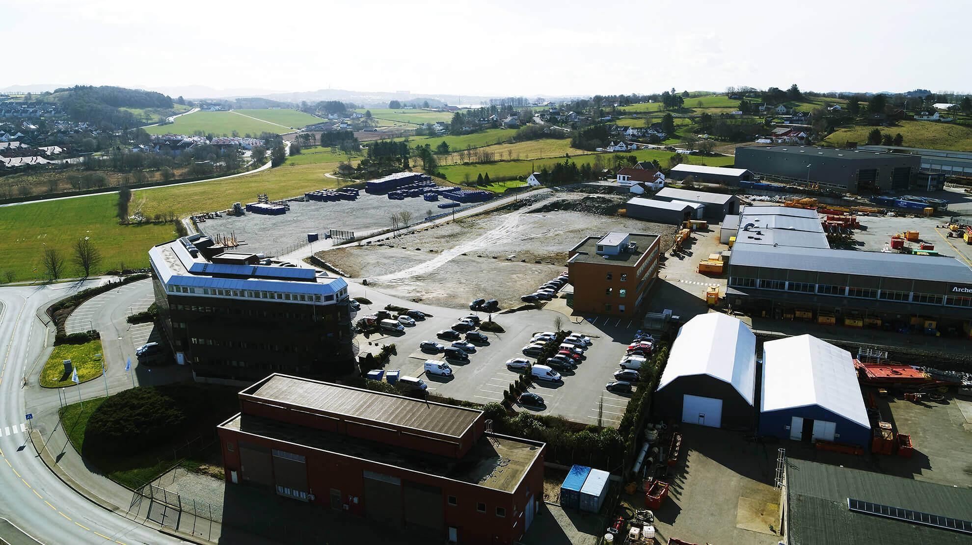 Øvre Dusavik - Dusavik supply base