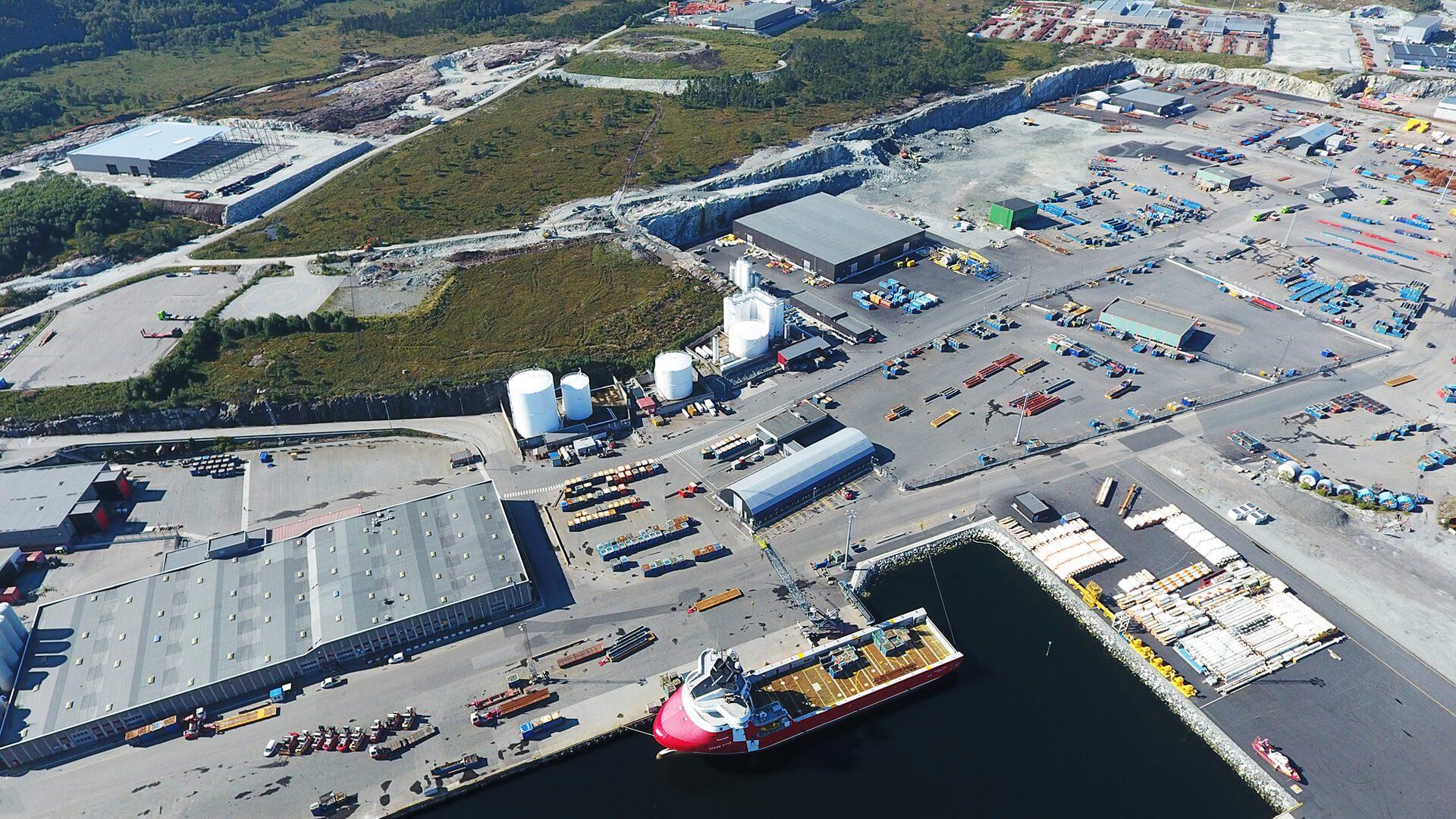Storhavnen - Mongstad Industrial Park